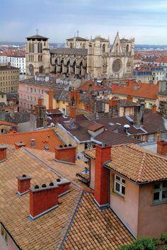 My beloved hometown: Lyon, France