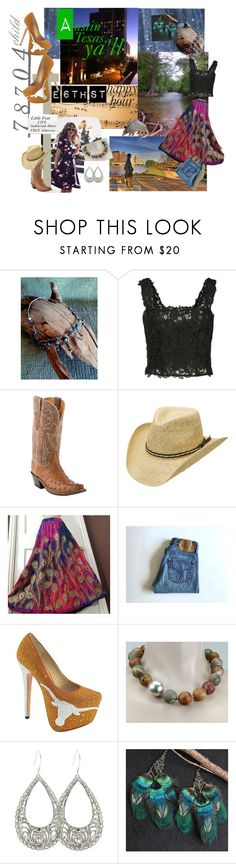 78704 child by stuffezes on Polyvore featuring Monique Lhuillier, Levi's, Herstar, Lucchese, Exex Design, Silverado, Music Notes and vintage