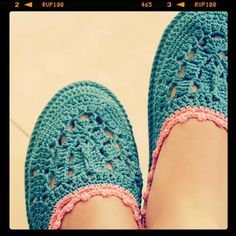 Shoes Blue pink