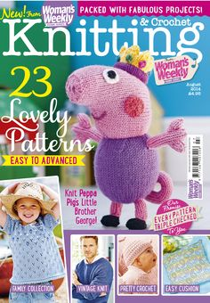 Knitting Crochet Magazine : ... Knitting Magazine Covers on Pinterest Knitting, Crochet Magazine and