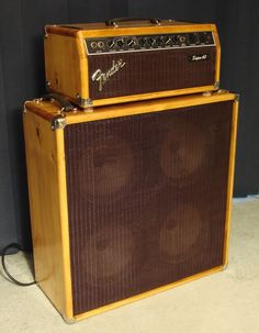 Tweed Fender Super 60 - upgraded to wood.... Oh. Oh my goodness. Point me to the nearest fainting couch, post haste!