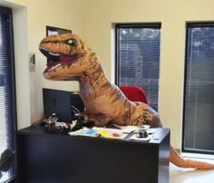 Inflatable T-Rex Costume  http://funnystufftobuy.com/inflatable-t-rex-costume