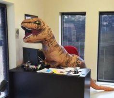 Inflatable T-Rex Costume  http://funnystufftobuy.com/inflatable-t-rex-costume