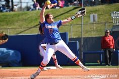 A day after she was named Southeastern Conference Pitcher of the Week, University of Florida senior Lauren Haeger won both major National Player of the Week awards, announced Tuesday by the National Fastpitch Coaches Association and the Amateur Softball Association of America.