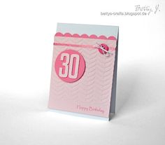 DIY birthday card with simple video tutorial