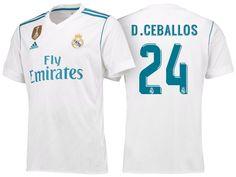 94c1486e7a25d Real Madrid C.F 2017-18 Season Home White Los Blancos Shirt Jersey Real  Madrid C.F 2017-18 Season Home White Los Blancos Shirt Jersey
