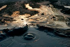 Berca Mud Volcano (Romania) - The Berca Mud Volcanoes are small volcano… Beautiful Places In The World, Places Around The World, Wonderful Places, Places To Travel, Places To Visit, Earth Photos, World Photo, Wonders Of The World, Travel Inspiration