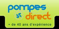Découpage et intégration du site www.pompes-direct.com