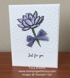 Remarkable You stamp set from Stampin' Up!  www.stampingwithtracy.com