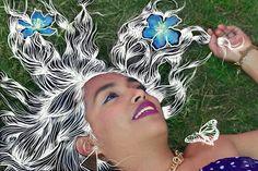 Flores en mi mente #flowers  #drawing #lineas #portrait #flores #fotografía #photography #nikon #wacom