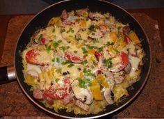 Placek ziemniaczany inaczej Polish Recipes, Tortellini, Potato Salad, Good Food, Food And Drink, Pizza, Rice, Potatoes, Chicken