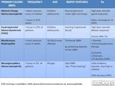 different types of nephrotic syndrome - Google Search