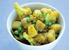 Lækker indisk grøntsagsret.