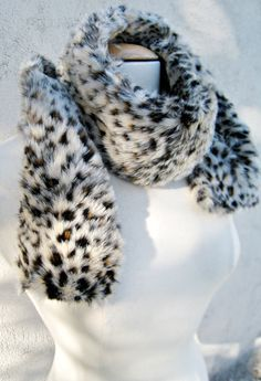 Faux Fur Skinny Sjaal | 32 Easy-To-DIY Scarves To Suit Every Style