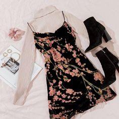Teen Fashion Outfits, Cute Fashion, Look Fashion, Outfits For Teens, Korean Fashion, Fall Outfits, Preteen Fashion, Dress Fashion, Cute Casual Outfits