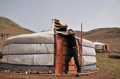 Estepas de Mongolia, Mongolia.