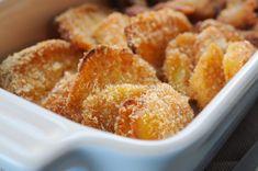 Patate e straccetti di pollo panati al formaggio