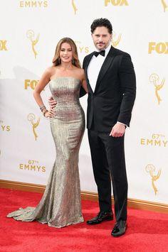 Sofia Vergara and Joe Manganiello made one stunning couple at the 2015 Emmys!