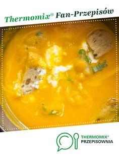 Zupa krem z dyni hokkaido 2 jest to przepis stworzony przez użytkownika Ewawis. Ten przepis na Thermomix® znajdziesz w kategorii Zupy na www.przepisownia.pl, społeczności Thermomix®.
