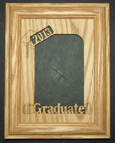 5x7 picture frame 2013 graduate high school by stansgifts on etsy 2995