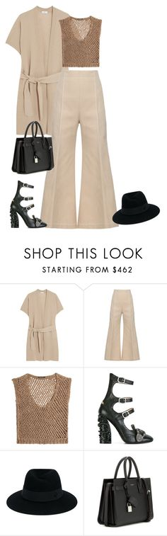"""Untitled #365"" by nailya-s ❤ liked on Polyvore featuring Vince, Acne Studios, DAMIR DOMA, Gucci, Maison Michel and Yves Saint Laurent"