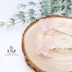 Set of 2 Natural flower hair clips, Flower hair accessory , Weddingo hair pins , flower bobby pin , Resin flower , Gift for her by UNJdesign on Etsy
