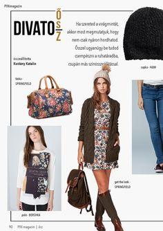 Pin magazin 2014 autumn - No. Get The Look, Autumn, Fashion, Bebe, Moda, Fall Season, Fashion Styles, Fall, Fashion Illustrations
