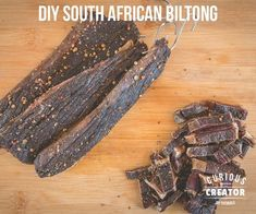 South African Biltong DIY : 5 Steps (with Pictures) - Instructables Oven Chicken Recipes, Dutch Oven Recipes, Cooking Recipes, South African Dishes, South African Recipes, Africa Recipes, Jerky Recipes, Braai Recipes, Oxtail Recipes