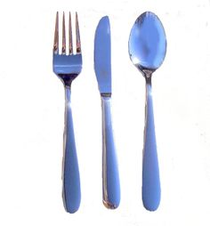 Children's cutlery set in stainless steel - beautiful. Very simple. The knife has a gently serrated edge.