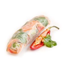 Rice Papers rolled into rolls, filled with vermicelli noodles and pickled capsicums, red onion, carrots, spring onion & Vietnamese mint. Served with a sweet & sour dipping sauce Canapes Catering, Rice Paper Rolls, Vermicelli Noodles, Vegetable Rice, Catering Companies, Wrap Sandwiches, Fresh Rolls, Finger Foods, Carrots