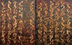 """""""MAGMA"""" (Diptych)"""