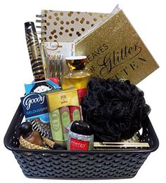 Easter basket ideas for teenage girls gift ideas pinterest all that glitters is gold tween girl beauty basket perfect for easter basket christmas negle Image collections