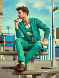 Paolo Anchisi for GQ Brasil by Greg Swales