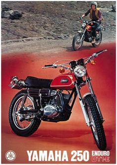 Yamaha Brochure DT1 DT1 E 1971 1972 Sales Catalog Repro | eBay
