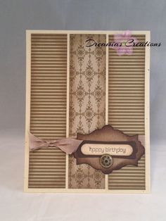 This card is great for the special guy in your life as a Birthday or Fathers Day card.  Made with all Stampin' Up products. on Etsy, $4.00