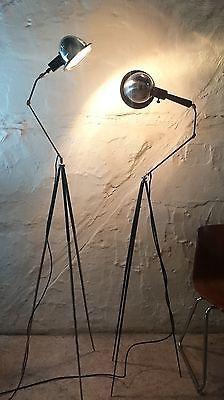 Tripod Stativ Steh Gelenk Arm Arzt Lampe Loft Industrie Design Lamp Vintage  Deko In Möbel U0026