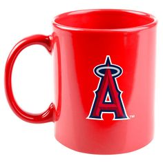 Los Angeles Angels of Anaheim 11oz. Rise Up Mug - Red - $11.99