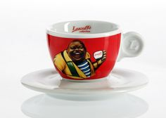 Lucaffé Cappuccinotasse CLASSIC Coffee Shops, Mugs, Tableware, Classic, Life, Coffeehouse, Coffee Mugs, Derby, Dinnerware