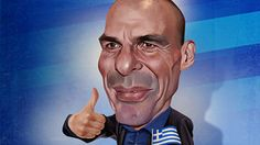 An Athenian boxer is fighting the good financial fight for Greece. Illustration byJoe Cummings
