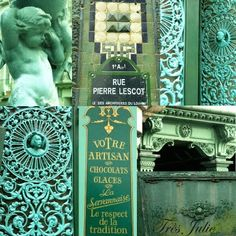glorious French green details