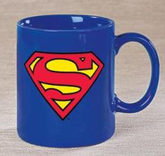 Superman Mug @ Harriet Carter Superman Gifts, Superman 2, Superman Stuff, Cool Gifts, Unique Gifts, Best Gifts, Superman Birthday Party, Mugs For Men, Man Of Steel