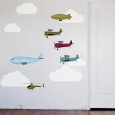 Airplanes and Friends Wall Decal just got more awesome! These are removable!