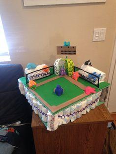 Baseball Diaper cake!!