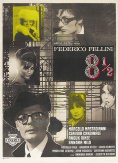 Federico Fellini. 8½ (Otto e mezzo 1963)