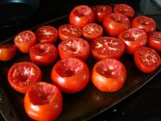 Ready to Freeze Tomatoes Frozen Meals, Frozen Fruit, Freezer Cooking, No Cook Meals, Vegetable Sides, Vegetable Recipes, Fresh Vegetables, Fruits And Veggies, Freeze Tomatoes
