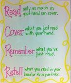 Chunking what we read.