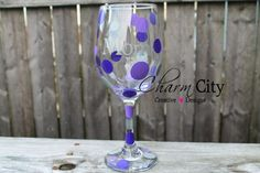Personalized Wine Glass 20 oz by ahindle78 on Etsy