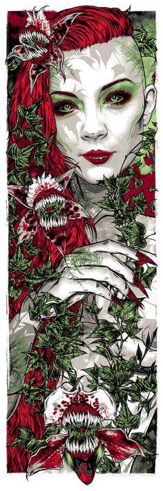 poison ivy by Rhys Cooper http://studioseppuku.bigcartel.com/