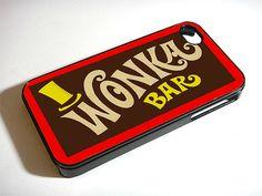 Wonka Bar phone case - creative!