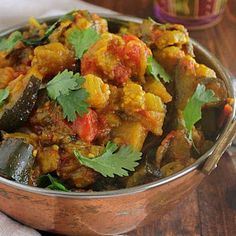 Eggplant Tomato Curry [Vegan]